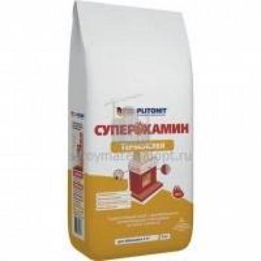 Клей для облицовки печей и каминов ПЛИТОНИТ СуперКамин ТермоКлей (5кг) 244шт/поддон - купить оптом, в розницу