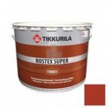 Грунт TIKKURILA противокоррозийный ROSTEX SUPER крао-коричневый 10л - купить оптом, в розницу
