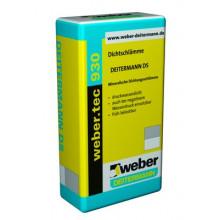 Weber Tec 930 Гидроизоляционный раствор на цементной основе (25 кг)