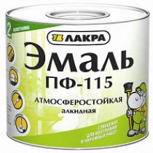 Лакра ПФ-115 эмаль чёрная (20 кг)