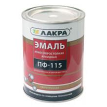 Лакра ПФ-115 эмаль шоколадно-коричневая (20 кг)