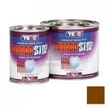 Грунт-эмаль ТЕКС Ржавostop коричневая 10кг - купить оптом, в розницу