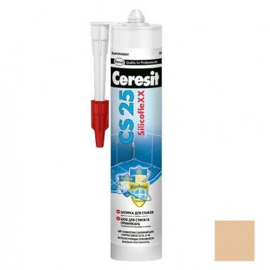 Затирка-герметик силиконовая Ceresit CS 25 Карамель 0,28 л - купить оптом, в розницу