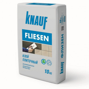 Клей для плитки Knauf Флизен 10 кг - купить оптом, в розницу