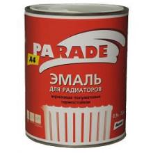 Parade А4 эмаль termo-acryl белая, полуматовая (2.7 л)