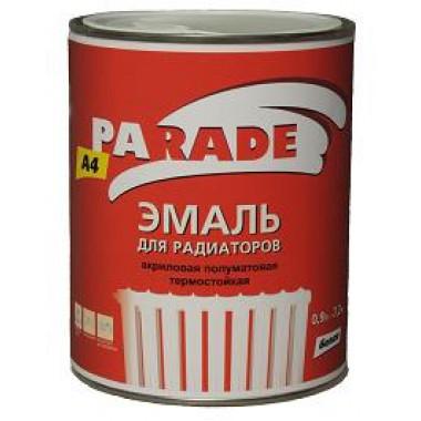 Parade А4 эмаль termo-acryl бел, п/мат (0,9л)