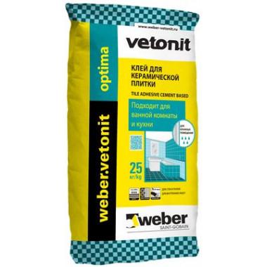Weber Vetonit «Optima» Клей для керамической плитки (25 кг)