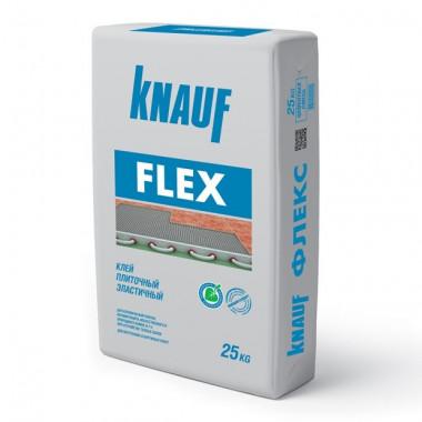 Клей для плитки Knauf Флекс эластичный 25 кг - купить оптом, в розницу