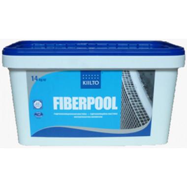 Kiilto «Fiberpool» (Fibergum) гидроизоляция полимерная каучуковая (14 кг)