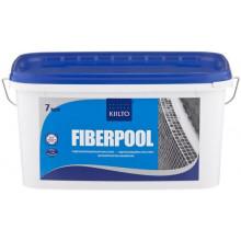 Kiilto «Fiberpool» (Fibergum) гидроизоляция полимерная каучуковая (7 кг)