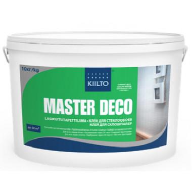 Kiilto «Master Deco» Клей для обоев под окраску, стеклообоев (10 л)