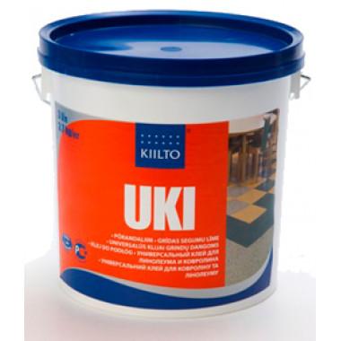 Kiilto «UKI» универсальный клей для линолеума и ковролина (для впитывающих оснований) (3 л)