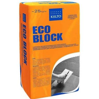 Kiilto «ECO BLOCK» Клей для газобетонных блоков (25 кг)