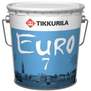 Краска Tikkurila Евро-7 латексная база С 9л