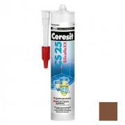Затирка-герметик силиконовая Ceresit CS 25 темно-коричневая 0,28 л - купить оптом, в розницу