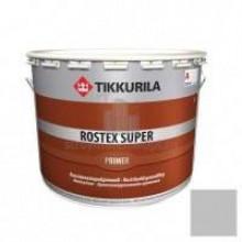 Грунт TIKKURILA противокоррозийный ROSTEX SUPER светло-серый 10л - купить оптом, в розницу