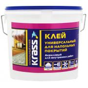Клей Krass для напольных покрытий универсальный акриловый 14кг