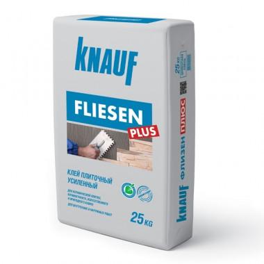 Клей для плитки Knauf Флизен Плюс усиленный 25 кг - купить оптом, в розницу