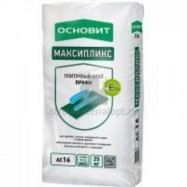 Клей плиточный ООВИТ МАКСИПЛИКС AC16 (Т-16) (25кг) 42шт/под - купить оптом, в розницу