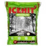 Противогололедный реагент ICEHIT Magnum/Арктик (20кг) ( аналог Бишофит) - купить оптом, в розницу