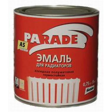 Parade А5 эмаль для радиаторов, белая, полуматовая (2,5л)