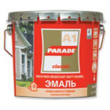 Parade А1 эмаль белая матовая (2,5л)