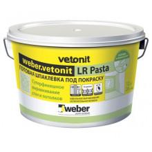 Weber Vetonit LR Pasta Готовая шпаклевка под покраску (20 кг)