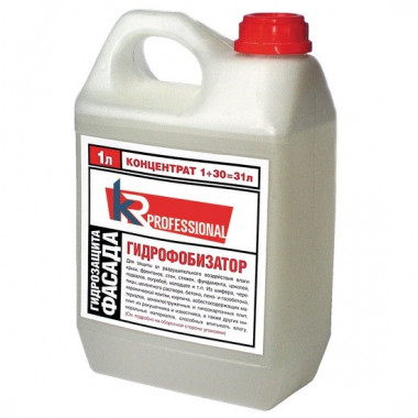 Гидрофобизатор KR Professional Байсиликон SK 1 л - купить оптом, в розницу