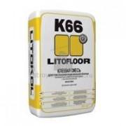 Смесь клеевая LITOKOL LitoFloor К66 (25кг) 54шт/под - купить оптом, в розницу