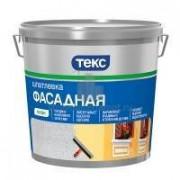 Шпатлевка акрилатная фасадная ТЕКС ПРОФИ 8кг (72шт/пал) - купить оптом, в розницу