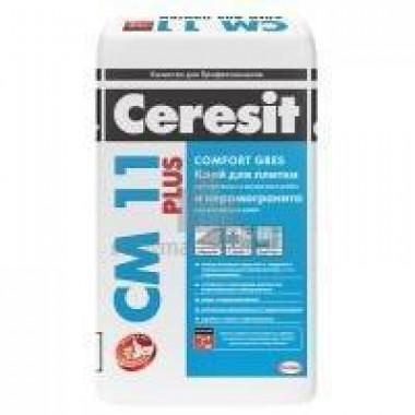 Клей для плитки CERESIT СМ 11/25 Plus (25кг) 48шт/под Россия - купить оптом, в розницу