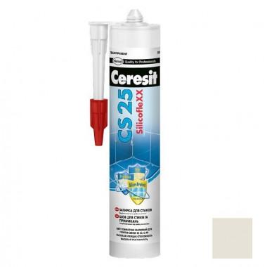 Затирка-герметик силиконовая Ceresit CS 25 Жасмин 0,28 л - купить оптом, в розницу