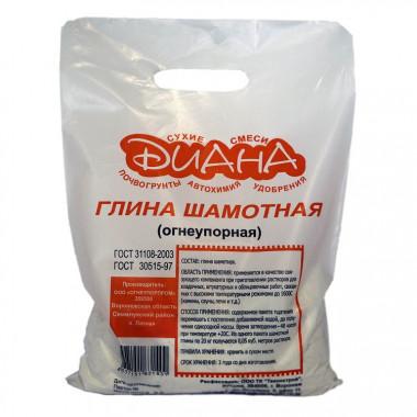 Глина шамотная Диана огнеупорная 5 кг - купить оптом, в розницу