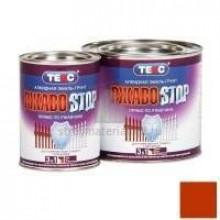 Грунт-эмаль ТЕКС Ржавostop крао-коричневая 2кг (6шт/уп) - купить оптом, в розницу