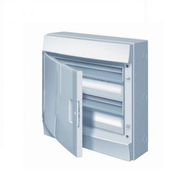 Бокс настенный Mistral41 24М непрозрачная дверь (с клемм) белый 1SLM004102A3105