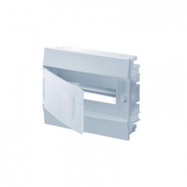 Бокс в нишу Mistral41 6М непрозрачная дверь (c клемм) белый