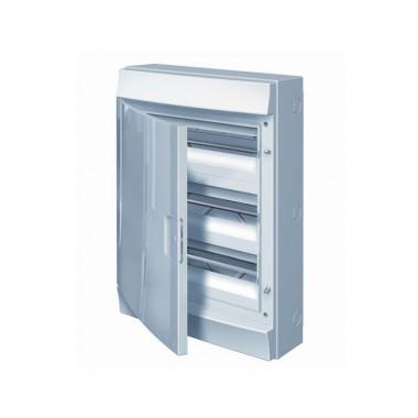 Бокс настенный Mistral41 36М непрозрачная дверь (с клемм) 3ряда 1SLM004102A3107