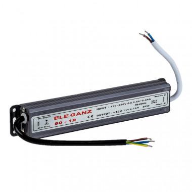 Блоки питания 12 Вольт 15W (герм.)IP67 170* 20* 20мм