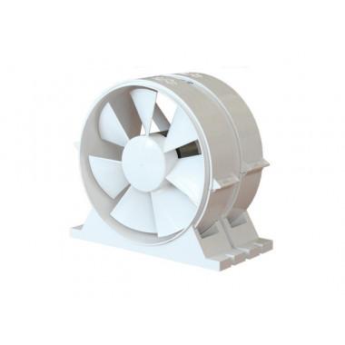 Вентилятор осевой канальный приточно-вытяжной с крепежным комплектом D 160