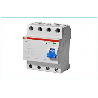 Выкл.диф.тока 4мод.F204 АС-100/0,3