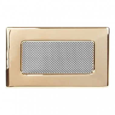 Вент. решетка 110х170 мм золото, никель,рэтро