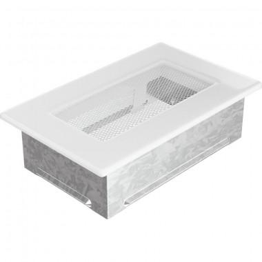 Вент. решетка 110х170 мм белый,кремовый, графит, нержавейка, черный