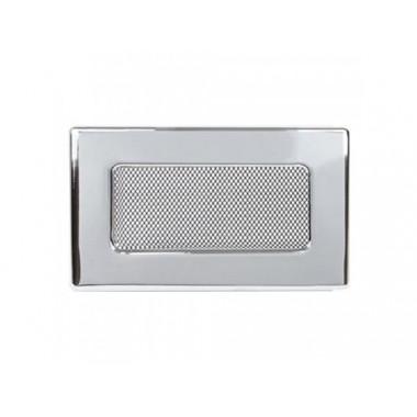 Вент. решетка 110х240 мм белый,кремовый, графит, нержавейка, черный