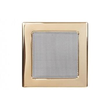 Вент. решетка 170х170 мм  золото, никель,рэтро
