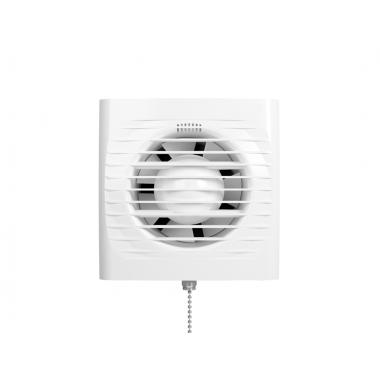 Вентилятор осевой вытяжной с тяговым выключателем D 150
