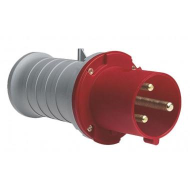 Вилка кабельная ICAT416-P6 16A, 3P+N+E, IP44
